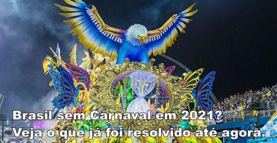 Brasil sem carnaval 2021