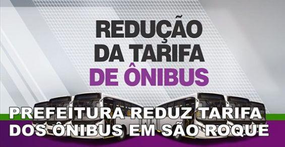 Tarifas de onibus reduzidas