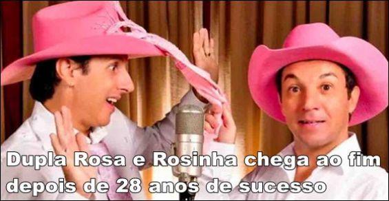 Fim de Rosa e Rosinha